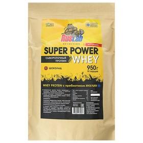 Протеин Super Power Whey, шоколад, 800 г