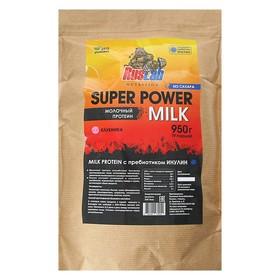 Протеин RusLabNutrition Super Power Milk,  800 г, клубника