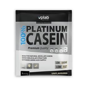 Протеин  VPLAB 100% Platinum Casein sachet / 30 g / без вкуса