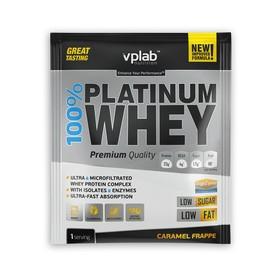 Протеин VPLAB 100% Platinum Whey sachets / 30 g / карамельный