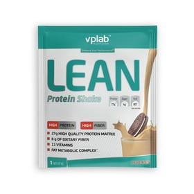 Протеин VPLAB Lean Protein Shake / 50 g / печенье крем