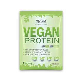 Протеин VPLAB Vegan Protein sachets / 30 g / ваниль