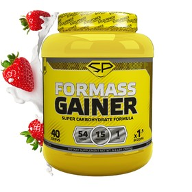 FOR MASS GAINER - 3000 гр, вкус - Клубника со сливками