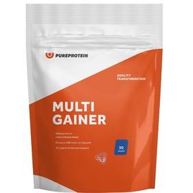 Гейнер Multicomponent Gainer, клубника со сливками, 3000г.