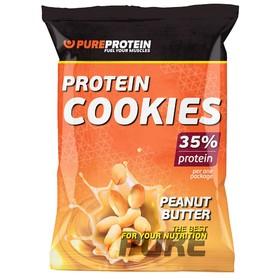 Печенье Protein Cookies, арахисовое масло, 12 шт.
