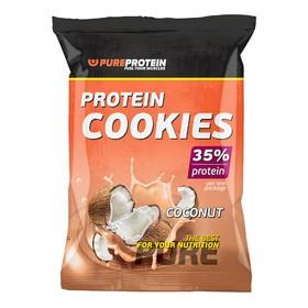 Печенье Protein Cookies, кокос, 12 шт.