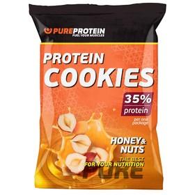 Печенье Protein Cookies, мед и орехи, 12 шт.