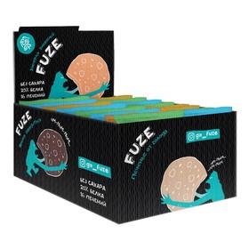 Печенье Mix Fuze Cookies, арахис, кокос, шоколад  16 шт.
