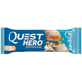 Батончики Quest Hero Bar Vanilla Caramel, ваниль, карамель