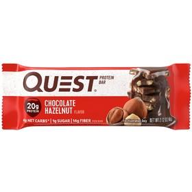 Батончики QuestBar Chocolate Hazelnut, шоколад с лесным орехом