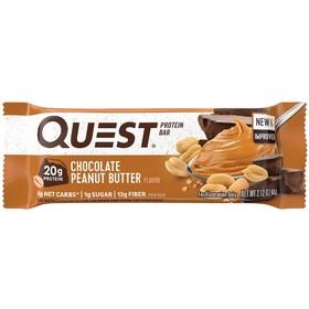 Батончики QuestBar Chocolate Peanut Butter, арахисово-шоколадная паста