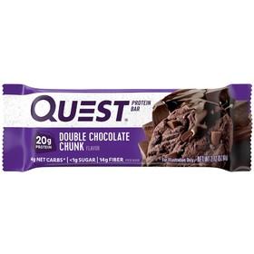 Батончики QuestBar Double Chocolate Chunk, печенье с шоколадной крошкой