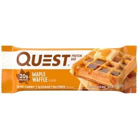 Батончики QuestBar Maple Waffle, вафля с кленовым сиропом