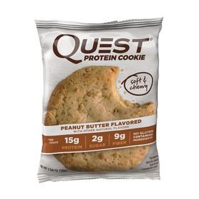 Печенье Quest Peanut Butte Cookie  с арахисовой пастой