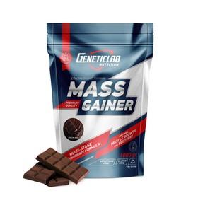 Гейнер MASS GAINER Geneticlab, шоколад 10 порций/1000 г.