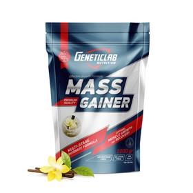 Гейнер MASS GAINER Geneticlab, ваниль 10 порций/1000 г.