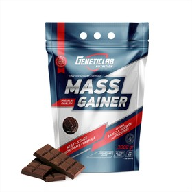 Гейнер MASS GAINER Geneticlab, шоколад 30 порций/3000 г.