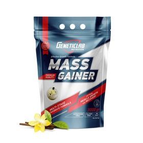 Гейнер MASS GAINER Geneticlab, ваниль 30 порций/3000 г.