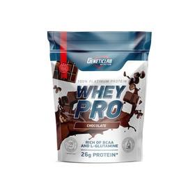 Протеин WHEY PRO Geneticlab, шоколад 900 г.