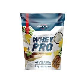 Протеин WHEY PRO Geneticlab, пина-колада 900 г.