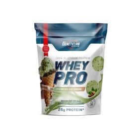 Протеин WHEY PRO Geneticlab, фисташковое мороженое 900 г.