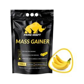 Геинер PRIME KRAFT GAINER banana, банан 3000 г.