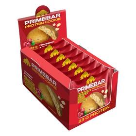 Протеиновое печенье Primebar, со вкусом клюква-овес 55 г.