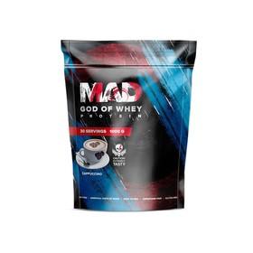 Протеин MAD GOD OF WHEY, (пакет ) капучино 1000 г.