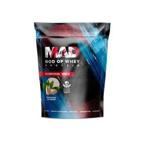 Протеин MAD GOD OF WHEY, (пакет ) фисташка 1000 г.
