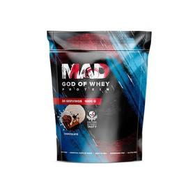 Протеин MAD GOD OF WHEY, (пакет ) шоколад 1000 г.
