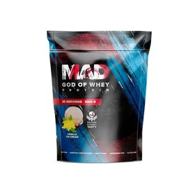 Протеин MAD GOD OF WHEY, (пакет ) ваниль 1000 г.