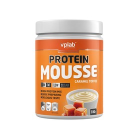 VPLAB Protein Mousse  / 330 g / Карамель