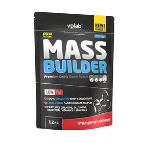 VPLAB Mass Builder / 1,2 кг / Клубничный Йогурт