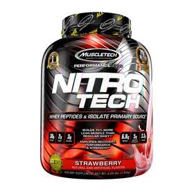 Протеин МТ Nitro-Tech Performance Series / 1816 г  / Клубника