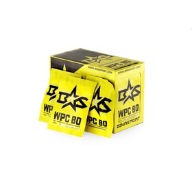 Протеин Binasport WPC 80 WHEY PROTEIN 80, манго-маракуйа, 33 г  (упаковка 20 шт)