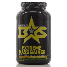 Гейнер Binasport EXTREME MASS GAINER, банан, 1500 г