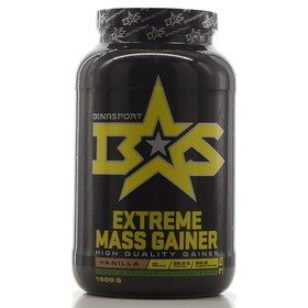 Гейнер Binasport EXTREME MASS GAINER, ваниль, 1500 г