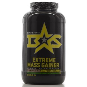 Гейнер Binasport EXTREME MASS GAINER, ваниль, 2500 г