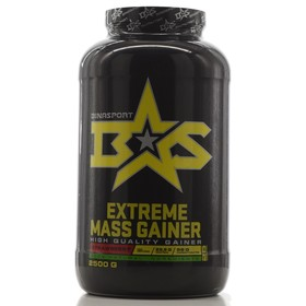 Гейнер Binasport EXTREME MASS GAINER, клубника, 2500 г