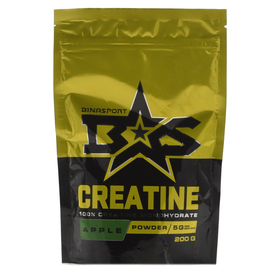 Binasport CREATINE, яблоко, 200 г